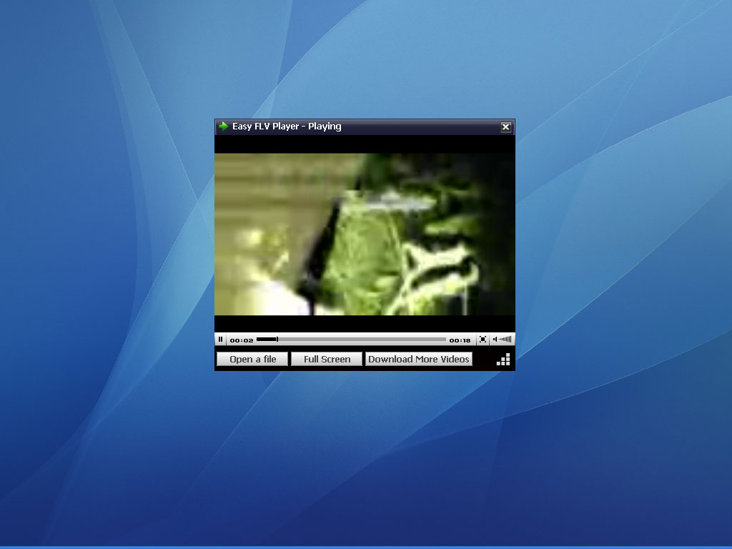 Click to view Easy FLV Player 3.0 screenshot